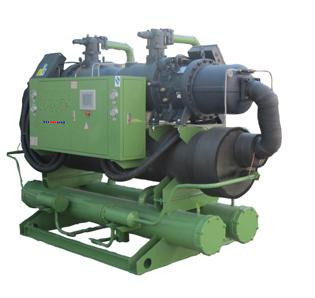Water-cooled screw chiller (double head)