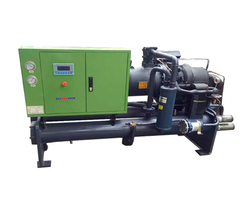 Medium and low temperature screw chiller